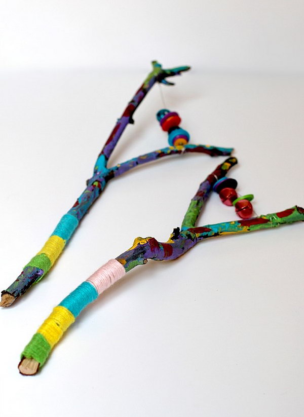 19 Awesome Twig Crafts for Kids With Lots of Tutorials