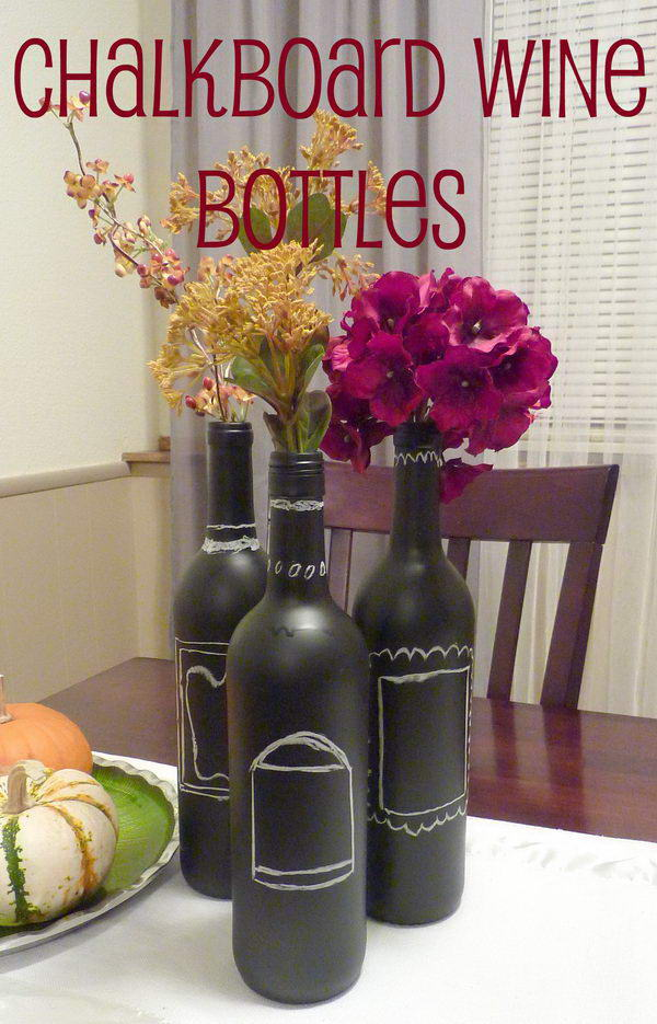 19 Awesome Wine Bottle Centerpieces For Any Table