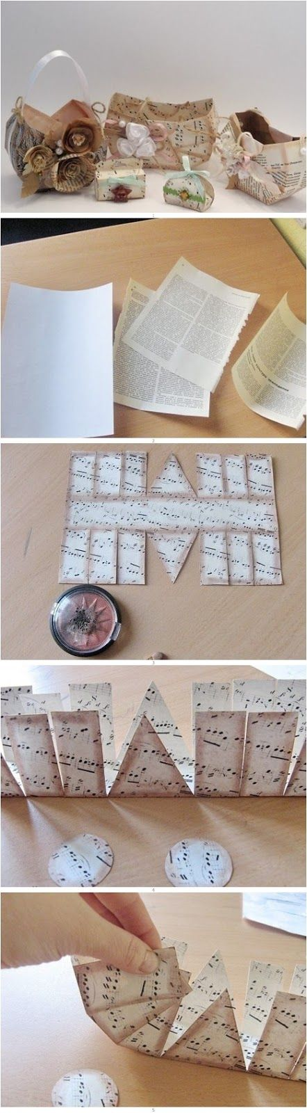 2 Cool DIY Projects Made With Old Books