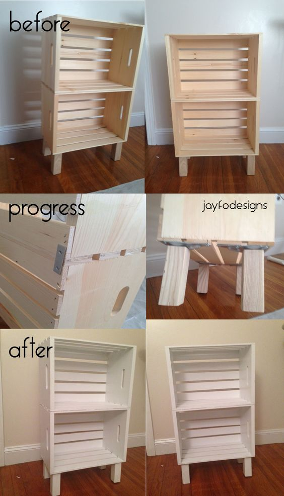 2 DIY Wood Crate Projects With Lots of Tutorials