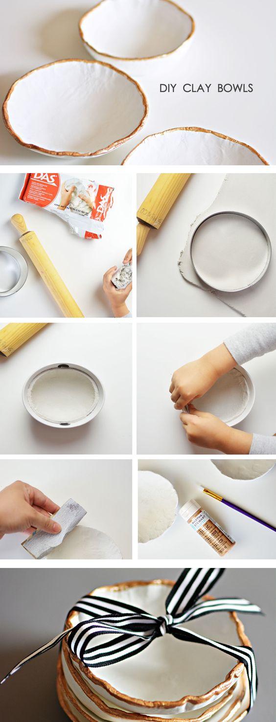 2 Easy DIY Ideas to Create Unique Bowls