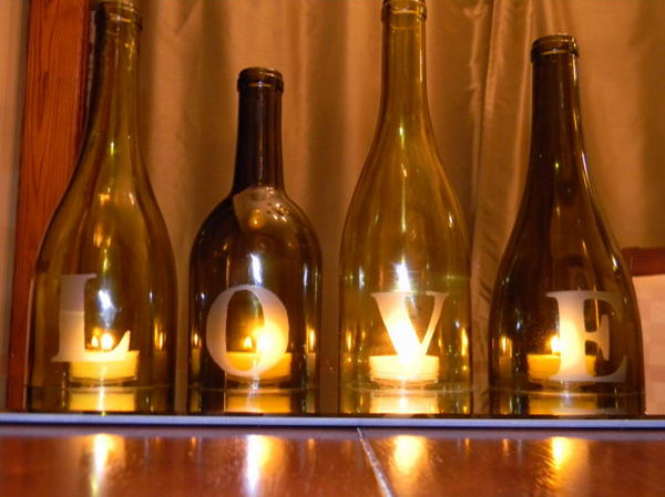 20 Awesome Wine Bottle Centerpieces For Any Table