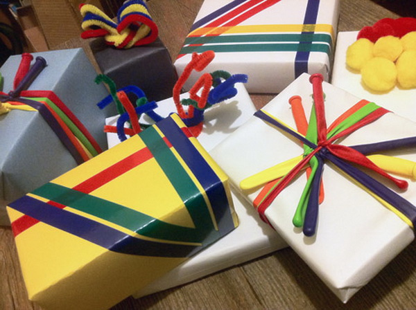20 Creative DIY Ideas  and  Tutorials for Gift Wrapping