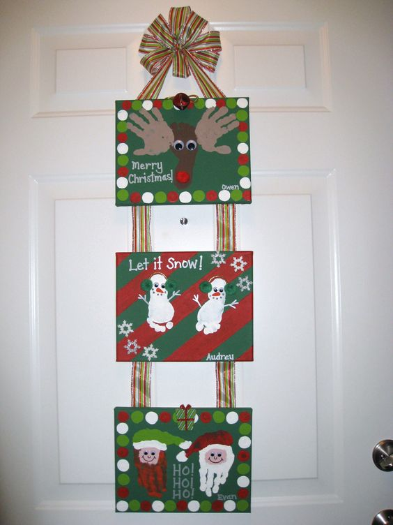 21 Amazing Canvas Painting Ideas for Christmas