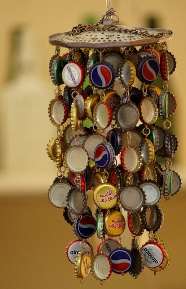 21 Awesome Ideas and Tutorials to Craft with Bottle Caps