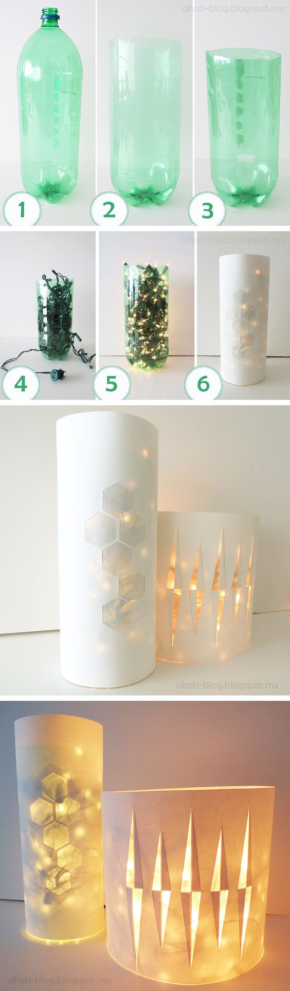 21 DIY Ideas  and  Tutorials To Recycle Plastic Bottles Into Useful Things