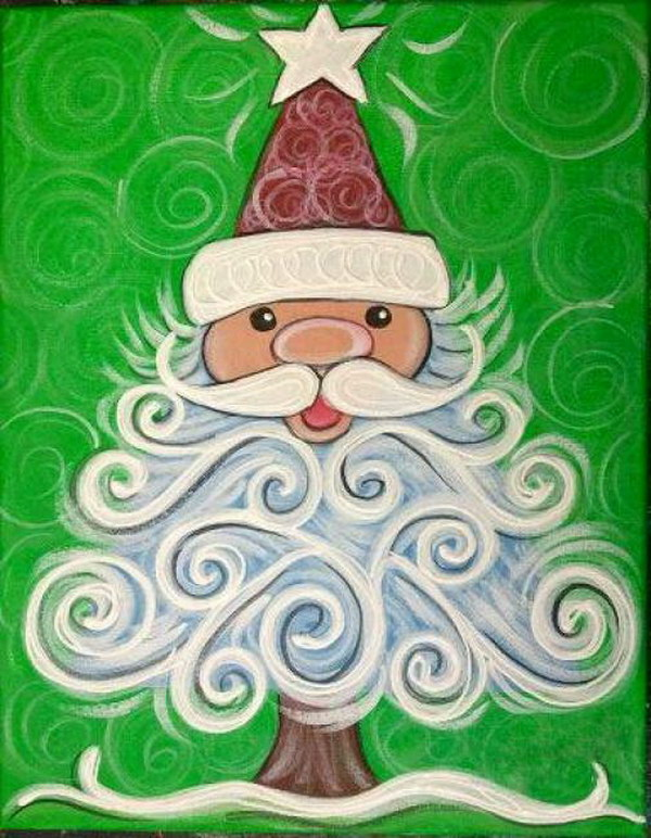 22 Amazing Canvas Painting Ideas for Christmas