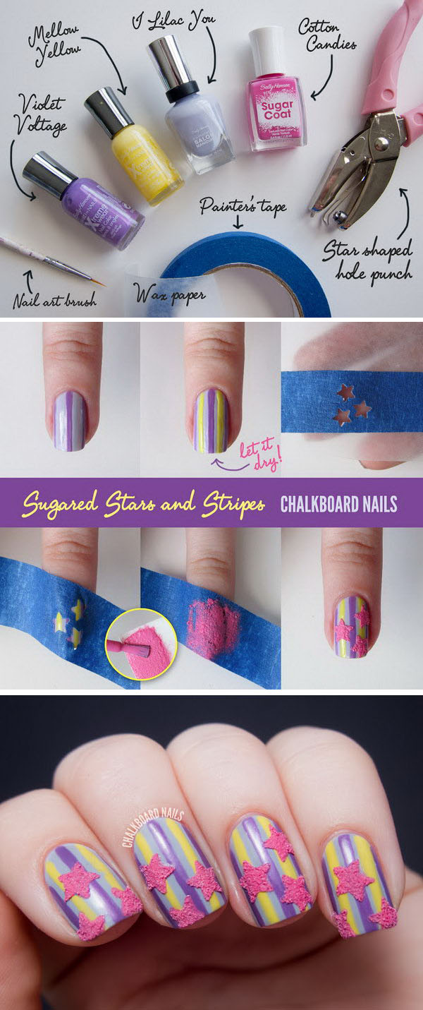 22 Easy and Fun Nail Art Tutorials