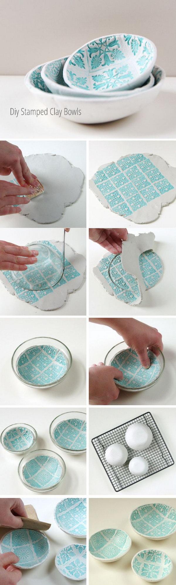 23 Easy DIY Ideas to Create Unique Bowls