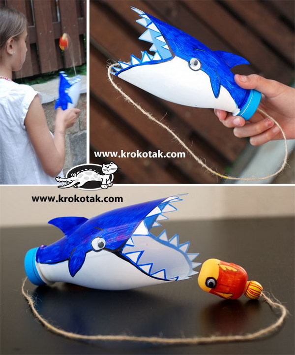 23 Fun and Creative Crafts Made Out Of Plastic Bottles