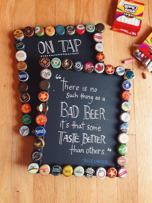 24 Awesome Ideas and Tutorials to Craft with Bottle Caps