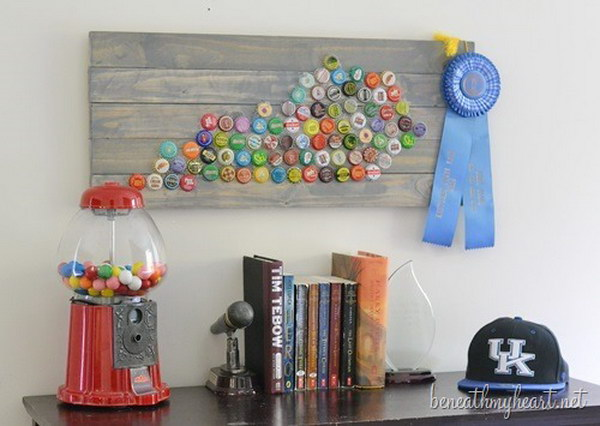 25 Awesome Ideas and Tutorials to Craft with Bottle Caps