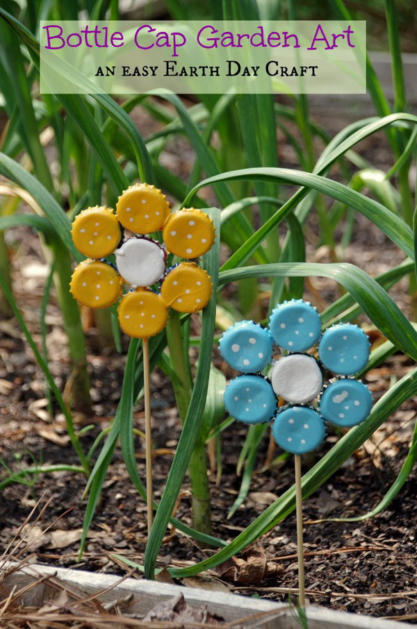 26 Awesome Ideas and Tutorials to Craft with Bottle Caps
