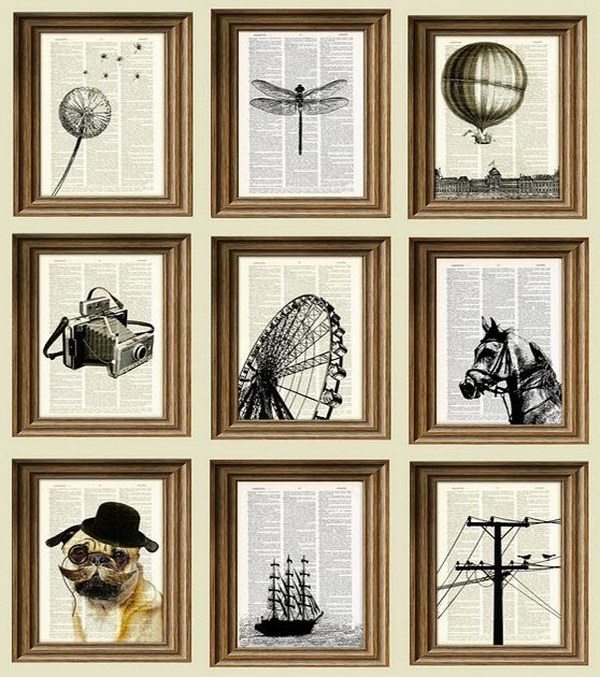 26 Cool DIY Projects Made With Old Books