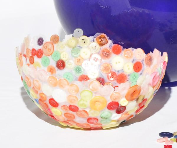 26 DIY Button Bowls