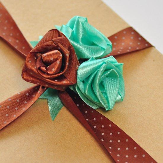 26 Ribbon Roses