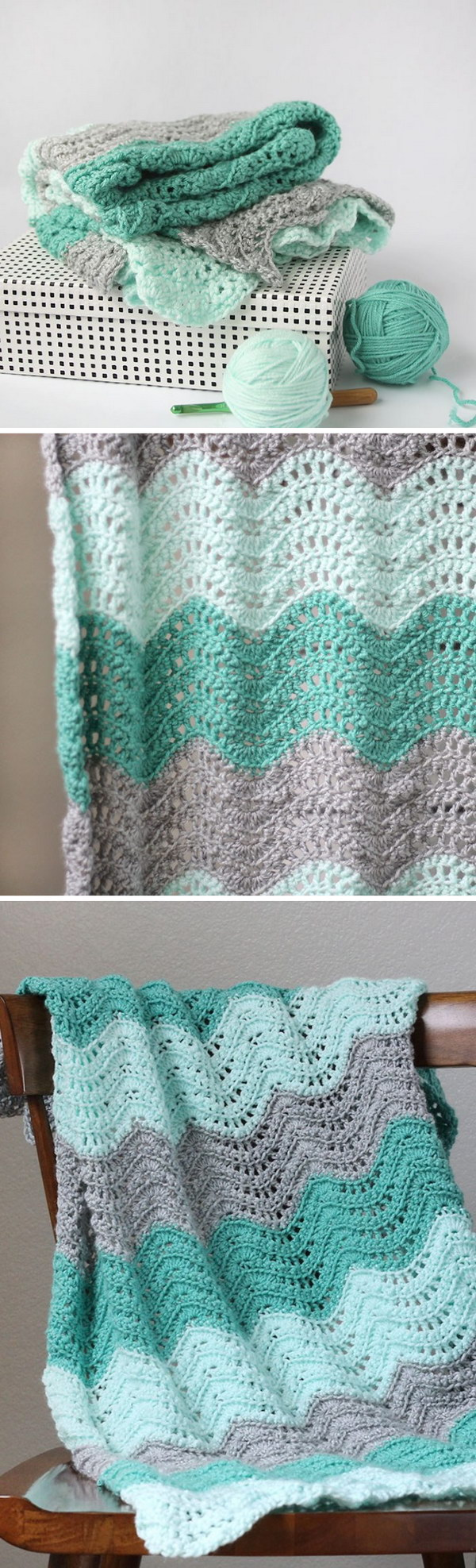27 Beautiful Crochet Blankets with Free Patterns