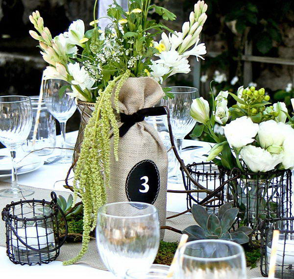 28 Awesome Wine Bottle Centerpieces For Any Table