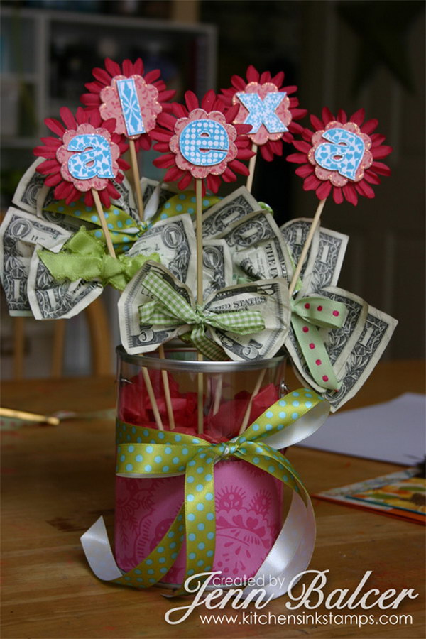 Красиво оформить подарок деньгами на день рождения 133