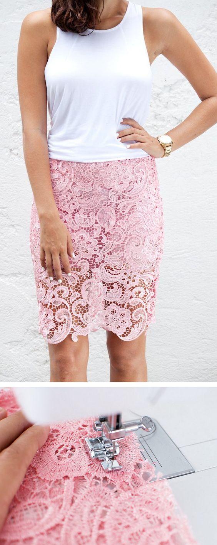 3 DIY Pencil Skirt Ideas  and  Tutorials
