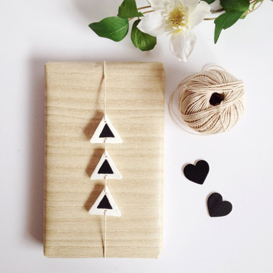 32 Clay Gift Tags