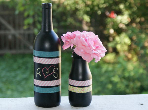 35 Awesome Wine Bottle Centerpieces For Any Table