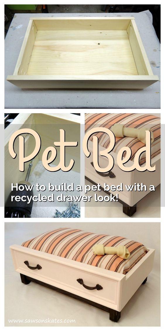 4 Creative DIY Pet Bed Ideas  and  Tutorials