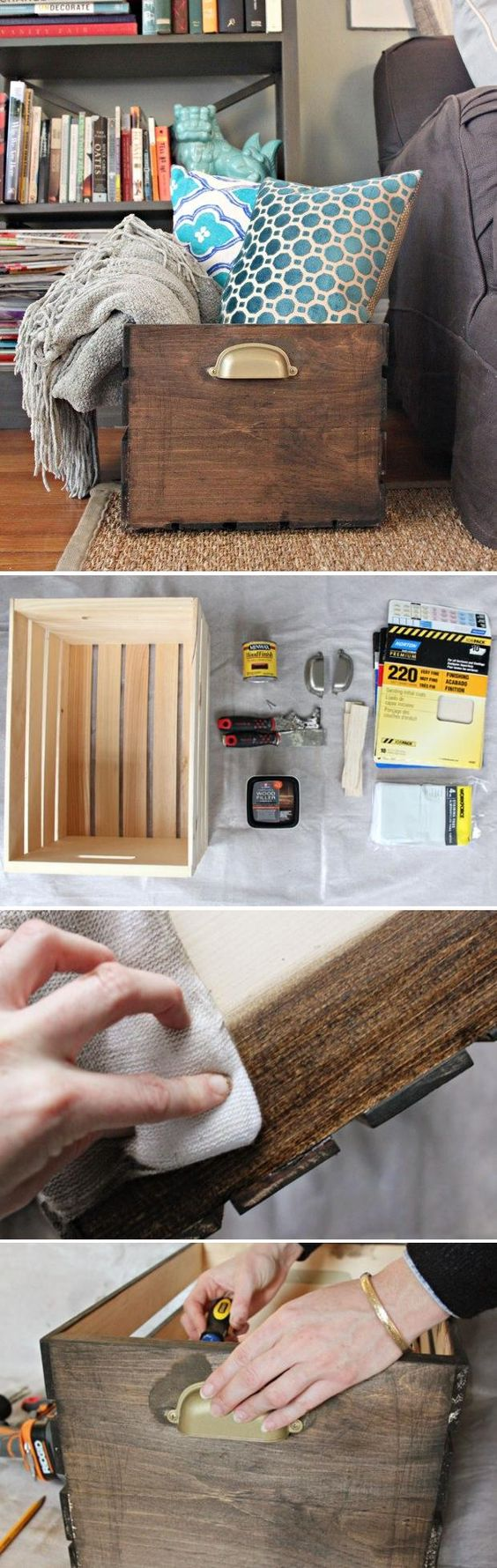 4 DIY Wood Crate Projects With Lots of Tutorials