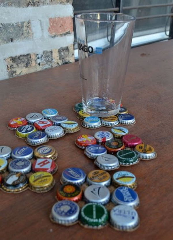 8 Awesome Ideas and Tutorials to Craft with Bottle Caps