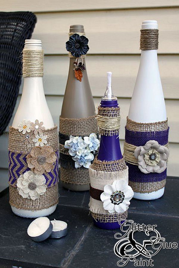 8 Awesome Wine Bottle Centerpieces For Any Table