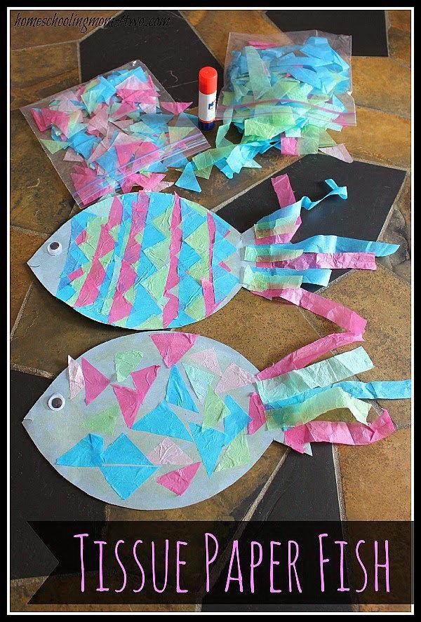 8 Easy DIY Tissue Paper Crafts