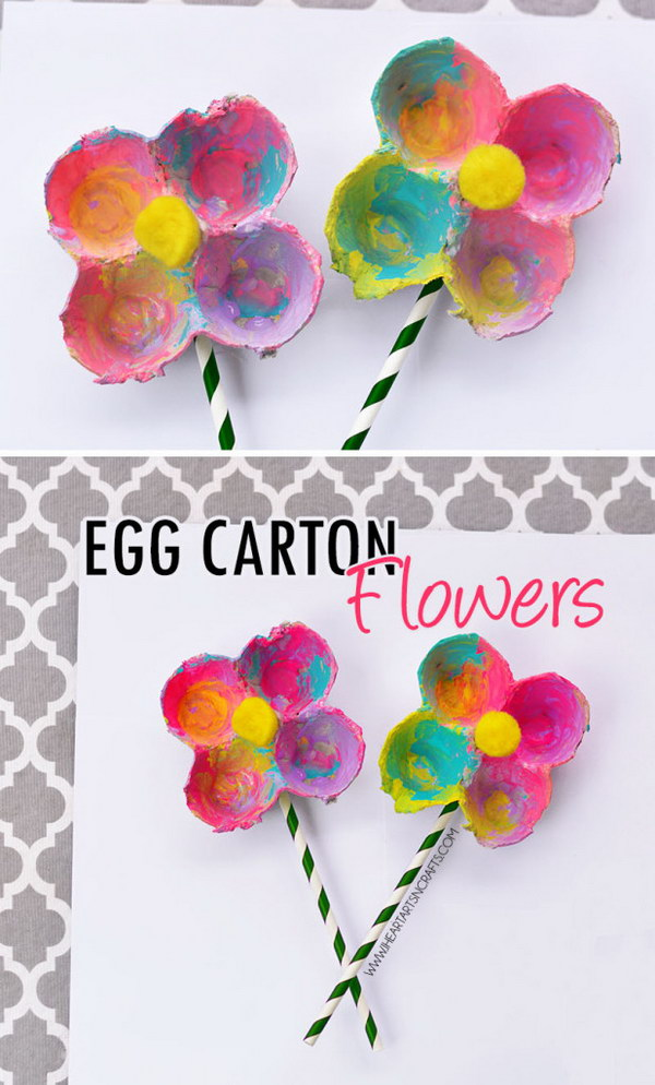 Nice Kids Craft Ideas For Spring Part - 8: 1 Easy Spring Craft Ideas And Tutorials For Kids