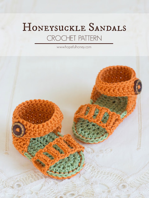 41 Adorable Crochet Baby Sandals With Free Patterns Page 10