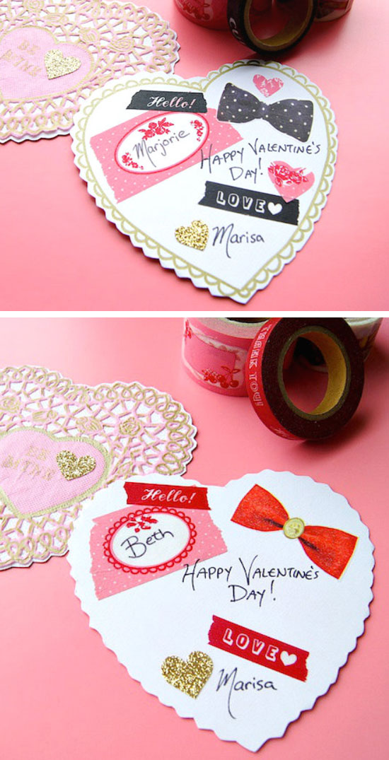 10 DIY Valentines Day Card Ideas  and  Tutorials