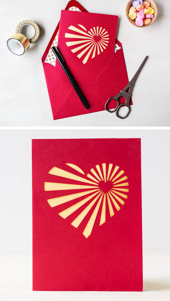 12 DIY Valentines Day Card Ideas  and  Tutorials