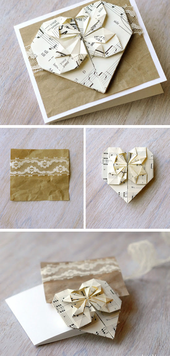 13 DIY Valentines Day Card Ideas  and  Tutorials