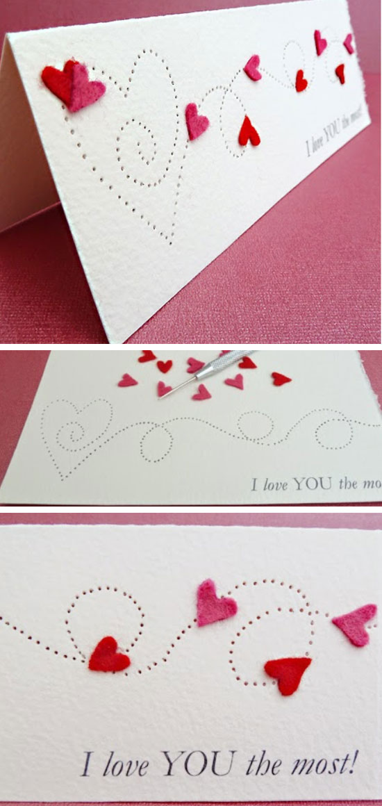 14 DIY Valentines Day Card Ideas  and  Tutorials