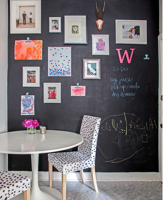 16 DIY Chalkboard Paint Ideas  and  Tutorials