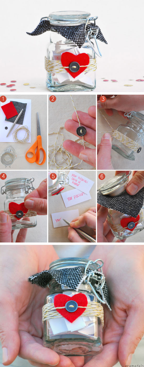 16 DIY Valentines Day Gifts for Him