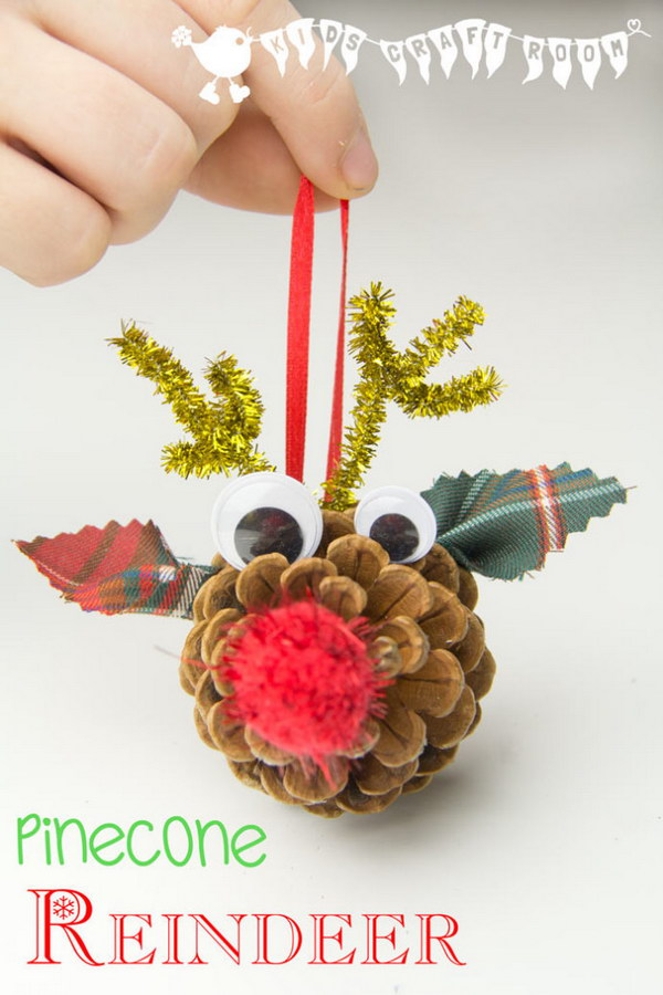 17 Adorable DIY Pine Cone Crafts