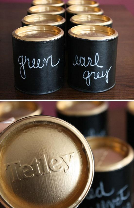 17 DIY Chalkboard Paint Ideas  and  Tutorials
