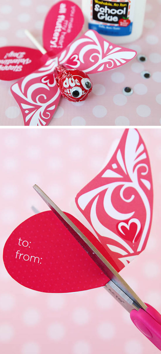19 DIY Valentines Day Card Ideas  and  Tutorials