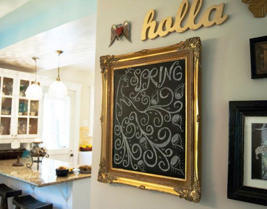 20 DIY Chalkboard Paint Ideas  and  Tutorials