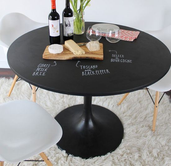22 DIY Chalkboard Paint Ideas  and  Tutorials