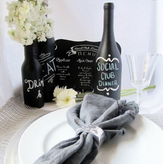 23 DIY Chalkboard Paint Ideas  and  Tutorials