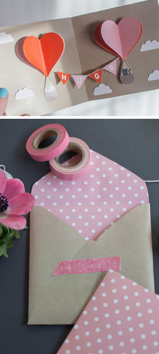 24 DIY Valentines Day Card Ideas  and  Tutorials