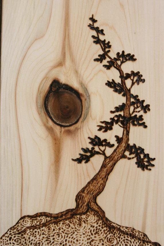 28 Pirografia - Fogo na madeira