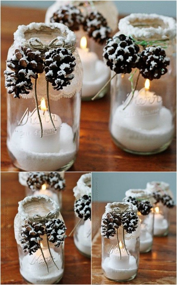 3 Adorable DIY Pine Cone Crafts