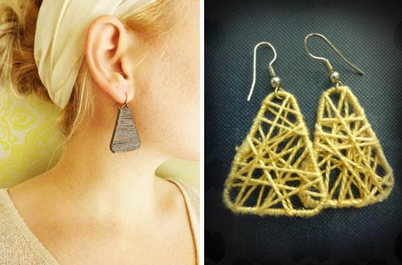 33 Paper Clip Earrings