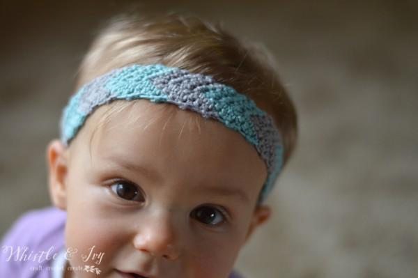 33 Simple Chevron Headband
